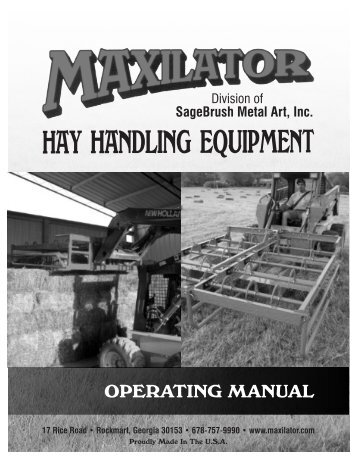 OPERATING MANUAL - JS Woodhouse