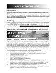 OPERATING MANUAL - JS Woodhouse - Page 2