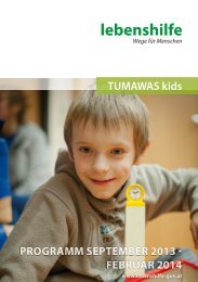 TUKI TUMAWAS KIDS.pdf - Lebenshilfe Graz und Umgebung ...