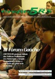Julho de 2009 - Crefito