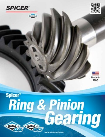 Spicer ring and pinion gearing - The Expert