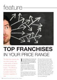 TOP FRANCHISES - Business Franchise Magazine