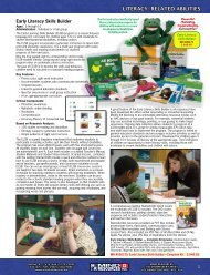 Literacy-Related Abilities (pages 1-37) - Mind Resources