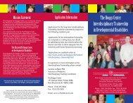 Traineeship Brochure - Robert Wood Johnson Medical School
