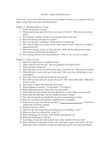 essay questions pyg on essay enotes com