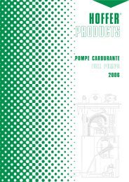 POMPE CARBURANTE FUEL PUMPS 2006