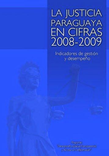 Acceda aquí al libro La Justicia Paraguaya en Cifras - Centro de ...