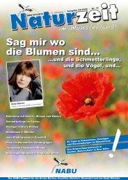 Sag mir wo die Blumen sind... - NATURZEIT im Münsterland
