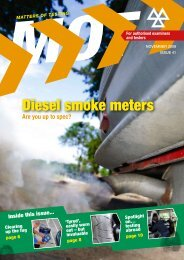 Diesel smoke meters - Driving, transport and travel