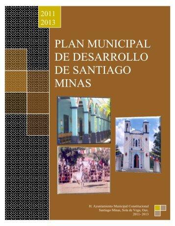 plan municipal de desarrollo de santiago minas - Secretaria de ...