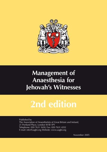 Jehovah's Witnesses 2 - aagbi