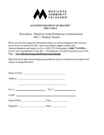 Theatrical Audio/Production Communication MCC / Outback Theatre