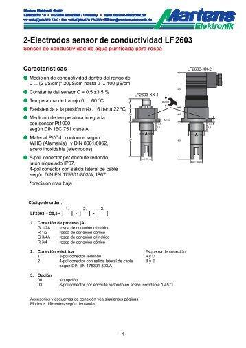 LF2603-00- Prospekt - Martens Elektronik GmbH