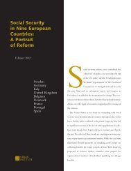 Social Security in Nine European Countries: A ... - Urban Institute