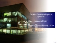 Parallel Programming with OpenMP (2) - Prace Training Portal
