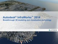 Autodesk InfraWorks 2014 what's new