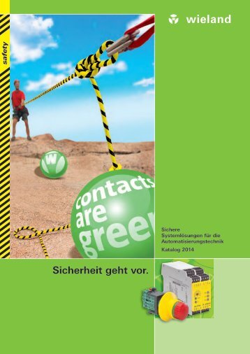 safety - Katalog 2014 (0860.0) - Wieland Electric
