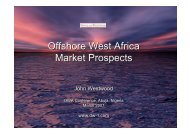 Offshore West Africa Market Prospects Offshore West Africa Market ...
