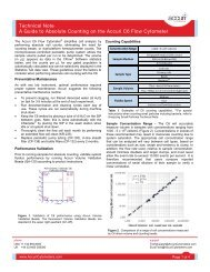 Technical Note A Guide to Absolute Counting on the Accuri C6 Flow ...