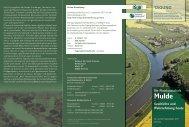 Die Flusslandschaft Mulde - Naturpark Muldenland