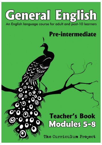 Qse general english modules 5 8 teachers guide the curriculum fandeluxe Gallery