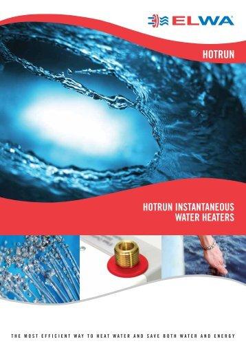 hotrun instantaneous water heaters - Pride Industries