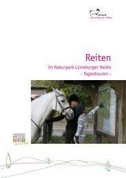 Routenbeschreibungen Reiten Teil2 - Naturpark Lüneburger Heide