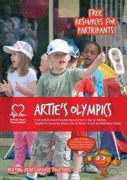 free resources for participants - British Heart Foundation