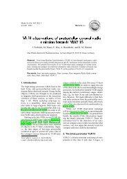 VLBI observations of protostellar coronal radio emission towards ...