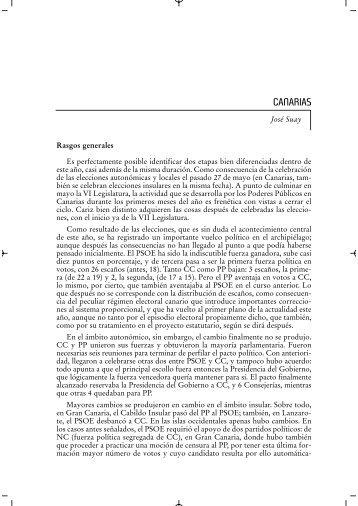 CANARIAS - Instituto de Derecho Público