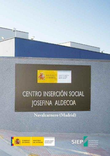"""Centro de Inserción Social """"Josefina Aldecoa"""" (folleto). - Secretaría ..."""