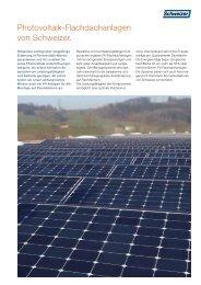 Produktprospekt (pdf, 225 KB) - Schweizer Metallbau