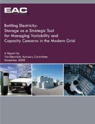 Bottling Electricity - California Energy Storage Alliance