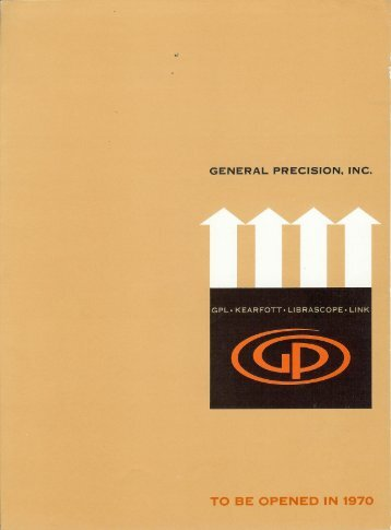 General Precision's 10 year Forecast. - Librascope Memories
