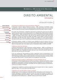 Informativo Ambiental - Agosto 2004
