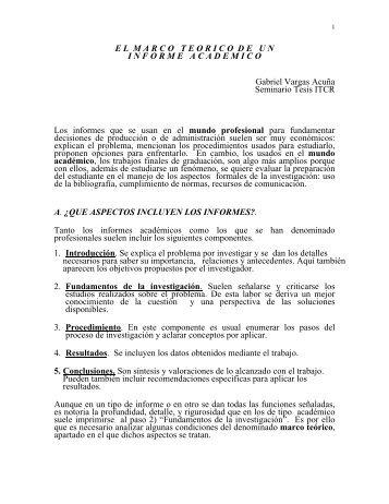 ELMARCOTEORICODEUNINF ORMEACADEMICO Gabriel Vargas ...