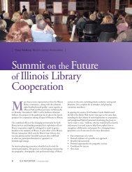 of Illinois Library Cooperation Summit on the Future