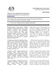 Malaysian International Shipping Registry - Jabatan Laut Malaysia