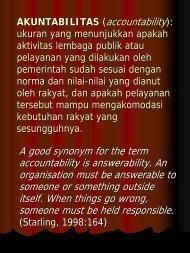 Akuntabilitas (accountability) - Kumoro.staff.ugm.ac.id