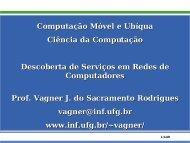 Serviços de Descoberta - UFG