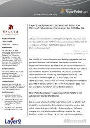 SPARTA AG - Layer 2 GmbH