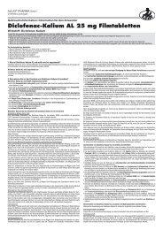 Diclofenac-Kalium AL 25 mg Filmtabletten - Aliud Pharma GmbH ...