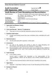 Audit Review of Cash Receipting and Reconciliation.