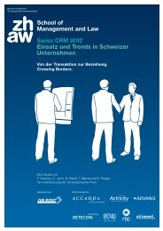 CRM Studie - ZiBESO AG