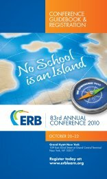 83rd ANNUAL CONFERENCE 2010 CONFERENCE GUIDEBOOK ...