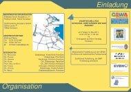 Organisation Einladung - GEWA