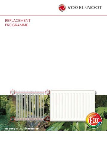 Brochure REPLACEMENT radiators [pdf; 3.86 MB] - Vogelundnoot ...