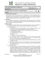 Ch. 44, 9.44 Medication Profile and Drug Regimen Review