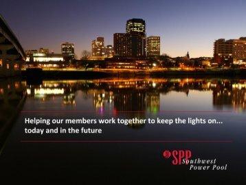 SPP: A Closer Look - Missouri Public Service Commission