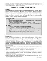 ANTIBIOTIC PROPHYLAXIS IN SURGERY - SurgicalCriticalCare.net